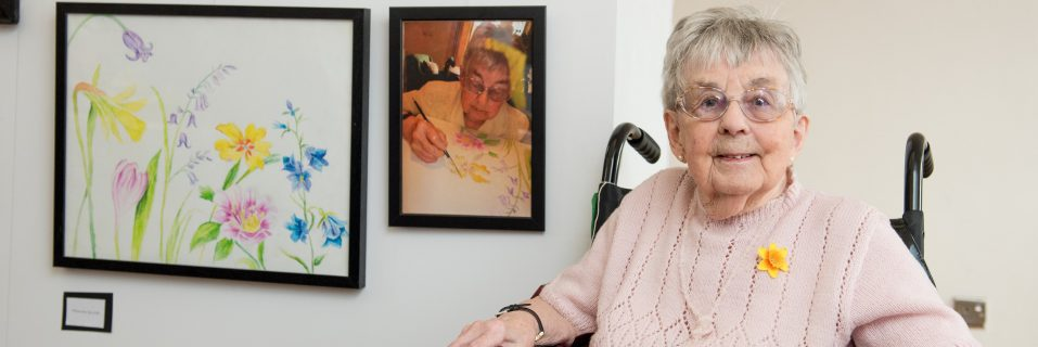 Art exhibition shows residents masterpieces