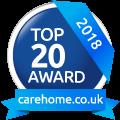 Top 20 Care Home Award