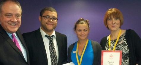 Admiral Court takes part in Princes Trust placement scheme