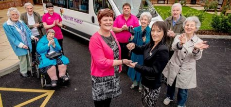 Minibus for Maycroft Manor!