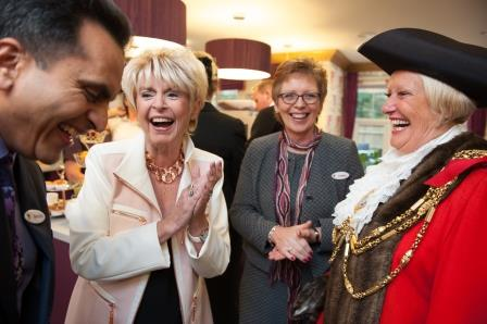 Gloria Hunniford at Maycroft Manor care home
