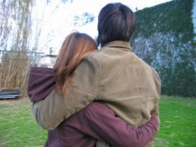 Reduce stress with a hug