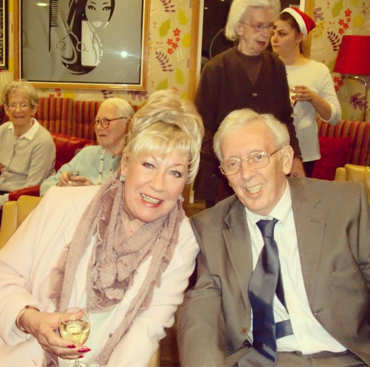 TV Actress Jean Fergusson visits Kew House