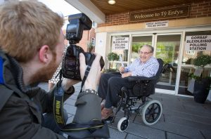 07.05.15 - Hallmark Healthcare - Ty Enfys Care Home Polling Station