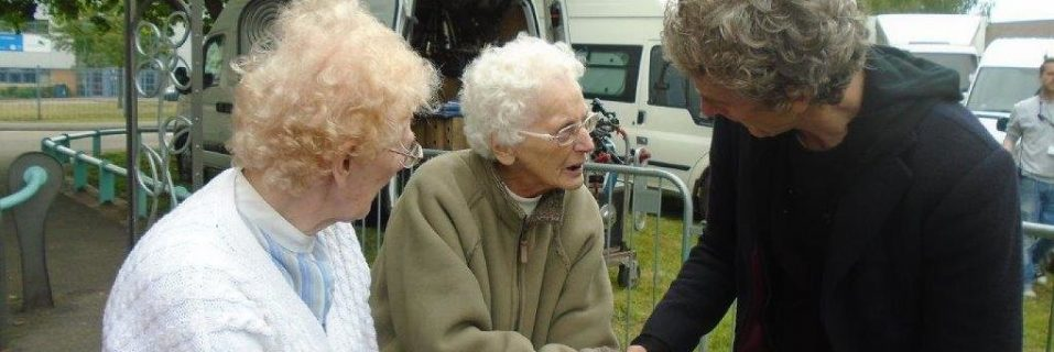 Shire Hall Residents Meet Dr Who Actor Peter Capaldi