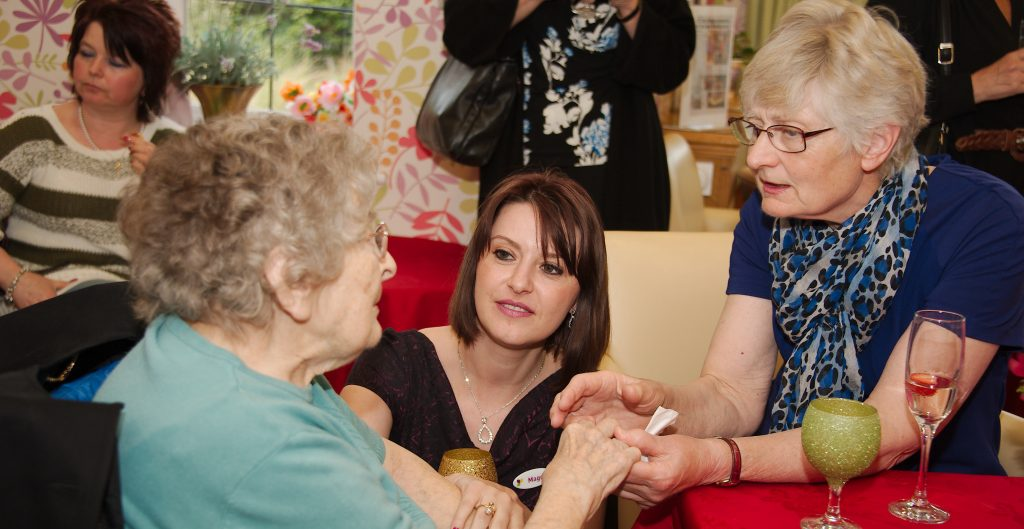 Residents Enjoy Cocktail Party at Alexandra Grange