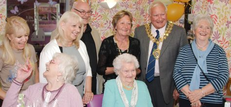 Alexandra Grange Resident Celebrates 100th birthday with family and friends