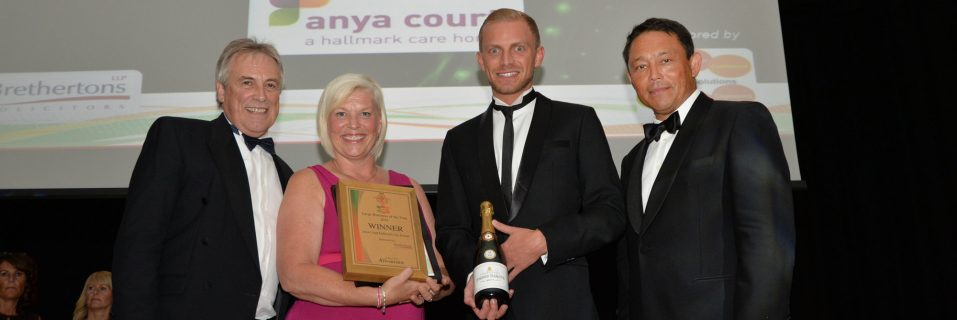 Anya Court scoops 'Large Business of the Year' at the Rugby Business Excellence Awards