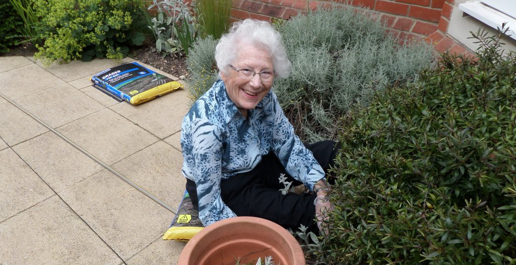Hallmark Care Homes compete for Hallmark in Bloom
