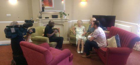 Kew House resident and 'Super Gran' Eileen Symonds 101 shares her secret to longevity on ITV's Good Morning Britain