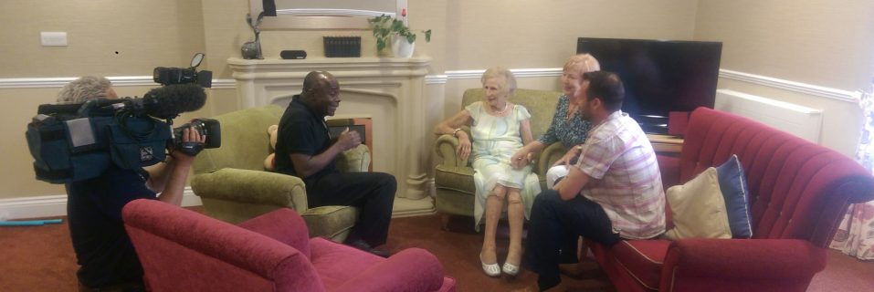 Kew House resident and 'Super Gran' Eileen Symonds 101 shares her secret to longevity on ITV's Good Morning Britain