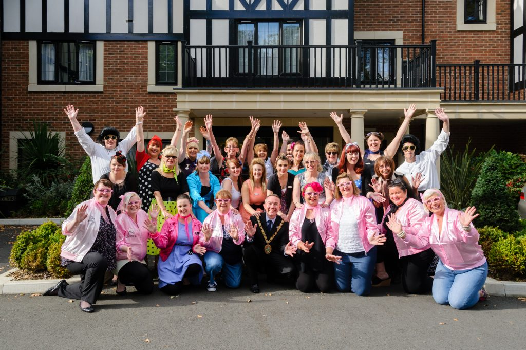 Anya Court put on 1950's bash to celebrate 1st birthday