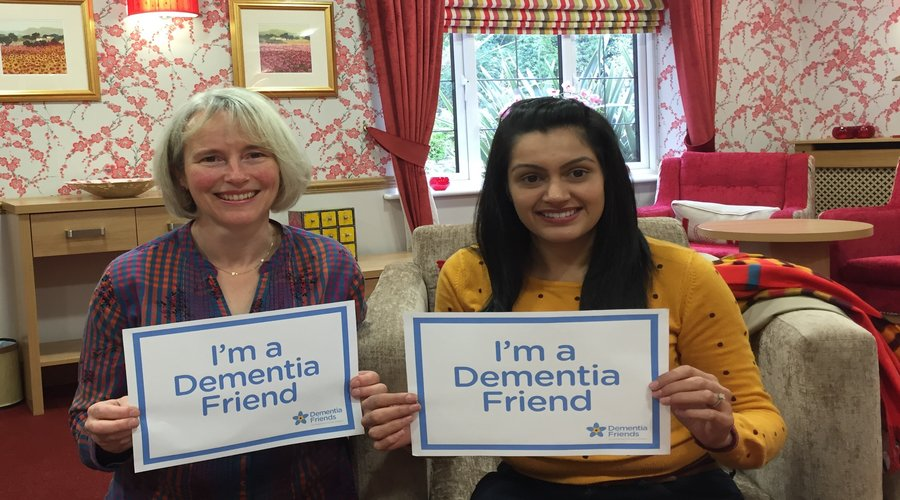 Hallmark Care Homes commit to making 1000 Dementia Friends