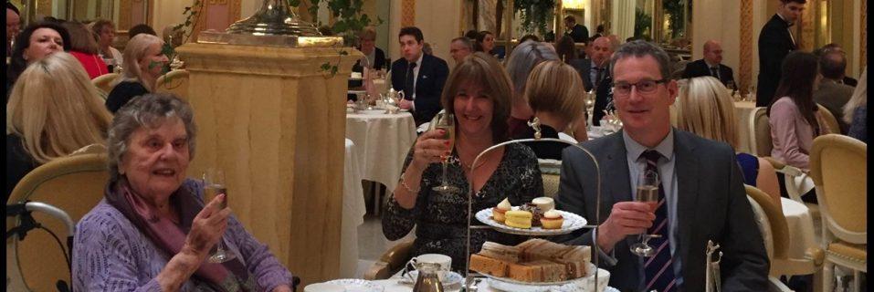 Hallmark Care Home resident celebrates 95th birthday at The Ritz