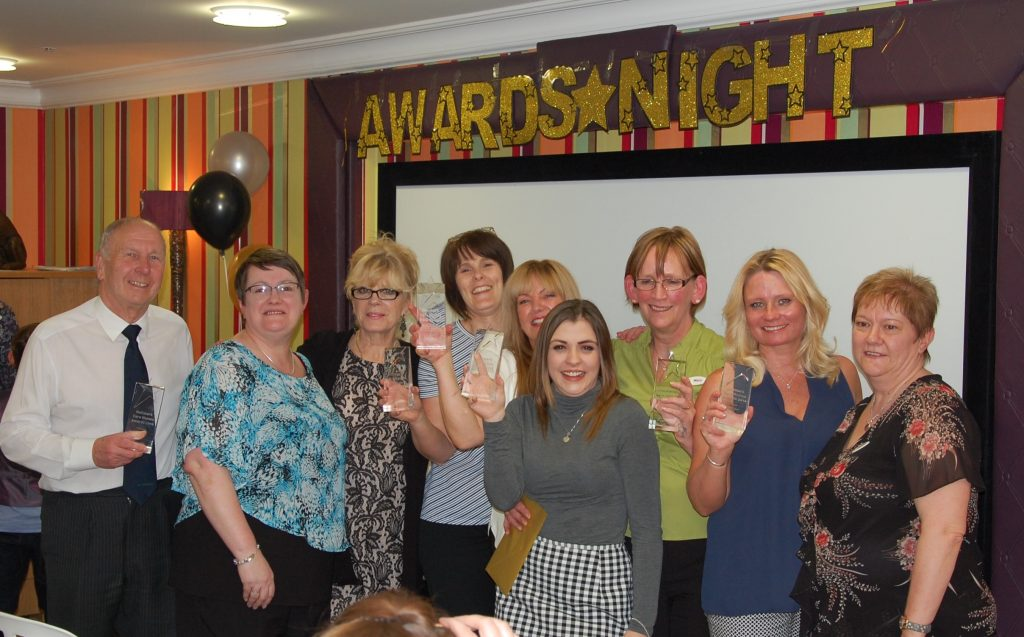 Hallmark Care Home local awards mark efforts of unsung heroes