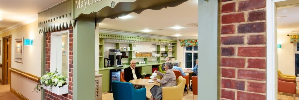 Maycroft Manor launch dementia support café