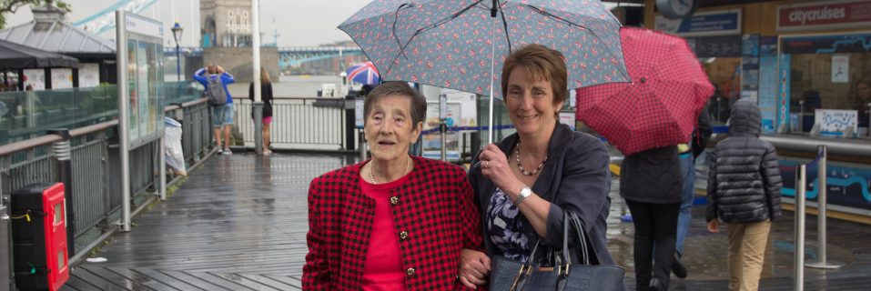 Hallmark grants resident's ultimate wish to go for a trip on the River Thames