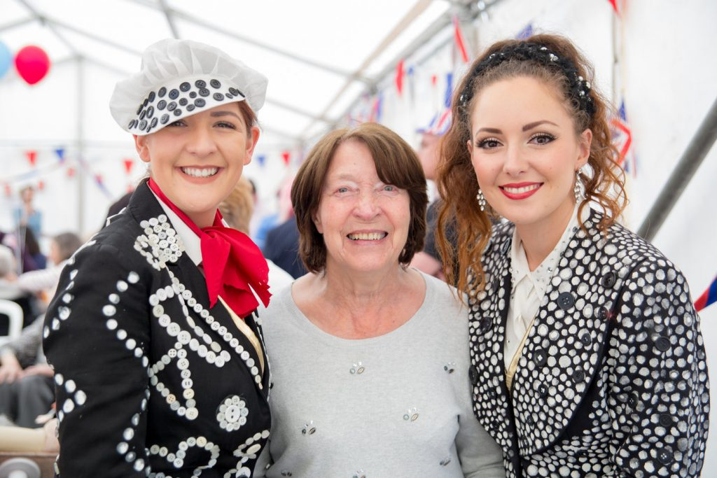Anisha Grange marks Her Majesty's 90th with a royal street party