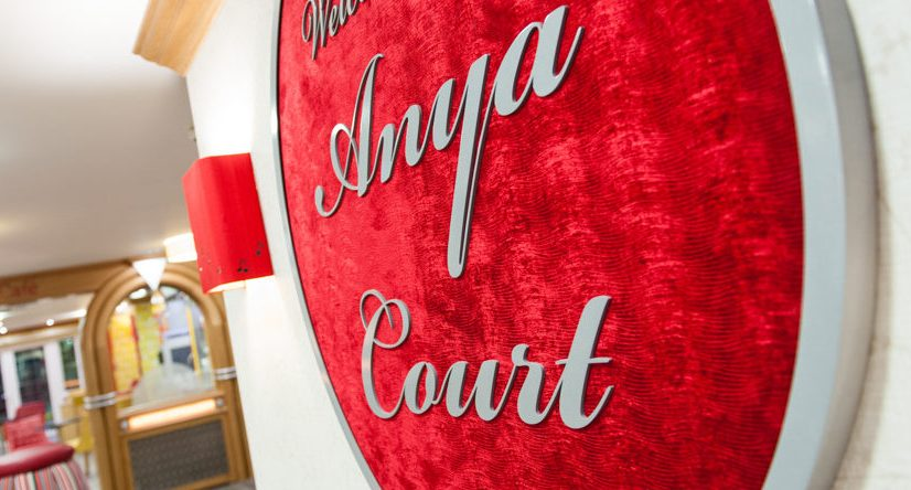 Anya Court kicks start collection for local food bank