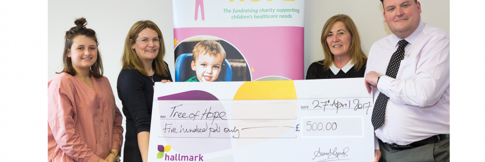 Chamberlain Court donates £1,000 to local charities