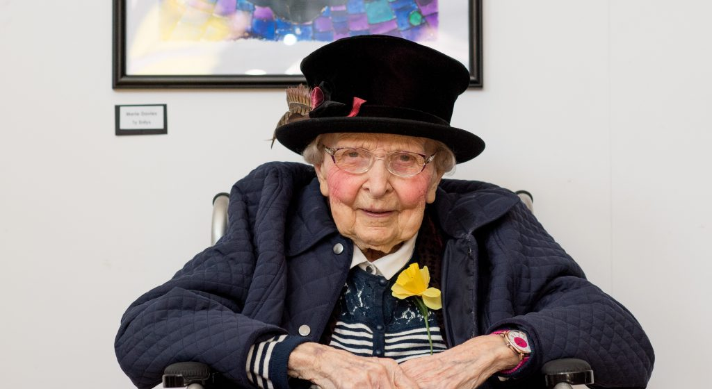 Resident shares her story of life during WW2