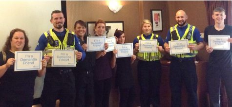Hallmark Care Homes celebrate after making 1000 people Dementia Friends