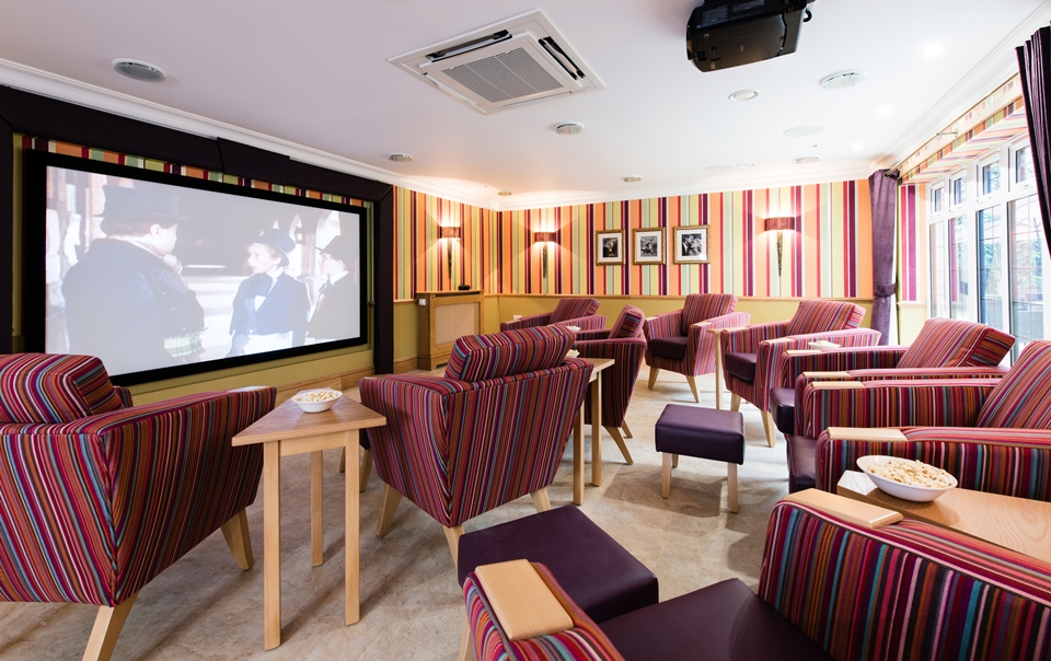 Anya Court to host a Dementia Friendly Cinema event – Wednesday 18th October