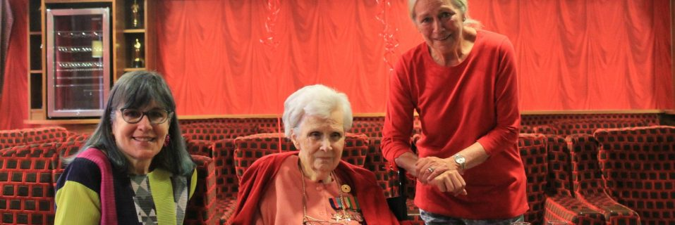 Care home resident who helped decipher Nazi transmissions celebrates 100th birthday