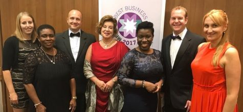 Kew House scoops runner up titles for two Merton Best Business Awards