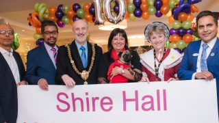 Shire Hall Care Home celebrates 10 years