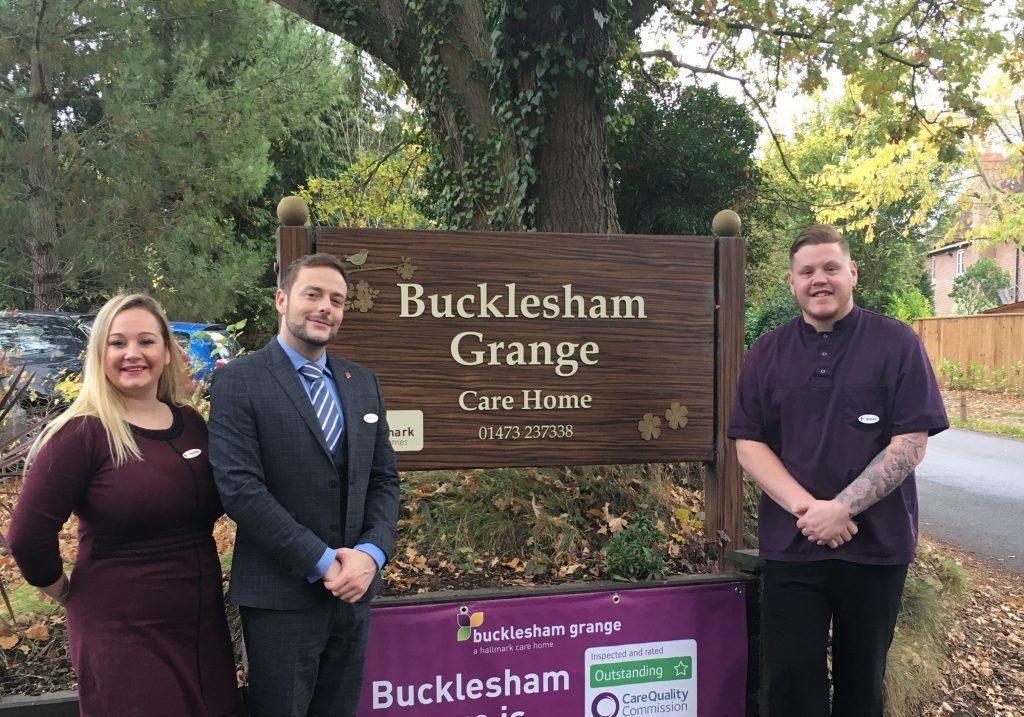Bucklesham Grange care team shortlisted for four prestigious awards