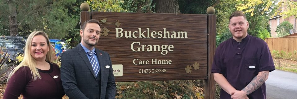 Bucklesham Grange care team shortlisted for four prestigious awards