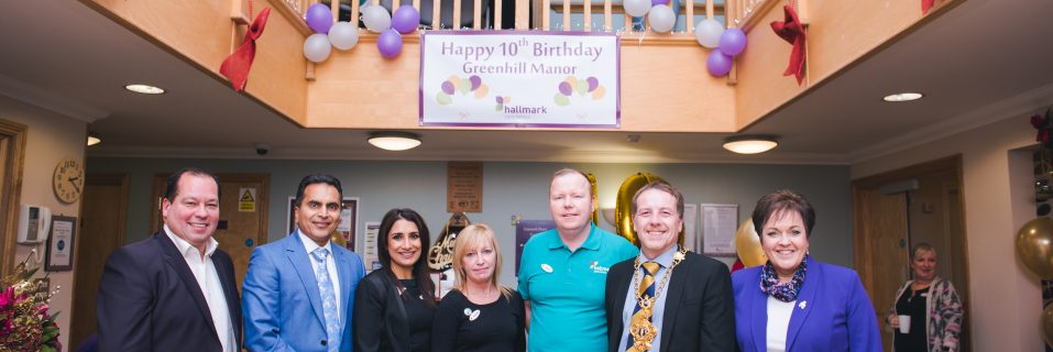 Greenhill Manor Care Home celebrates 10 years