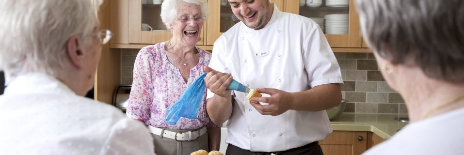 Focus on… hospitality at Admiral Court Care Home