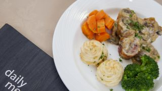 Stuffed chicken ballotine recipe
