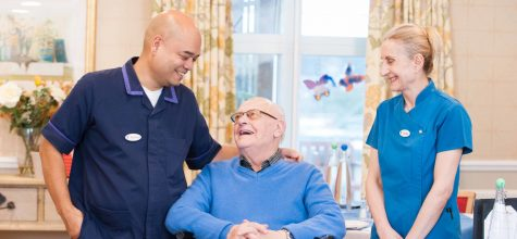 Focus on… management at Chamberlain Court Care Home