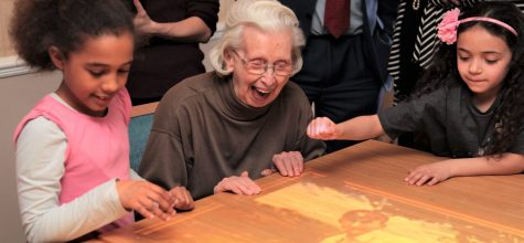 Kew House Care Home installs state-of-the-art magic table