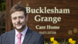 Bucklesham Grange receives accreditation in end of life care