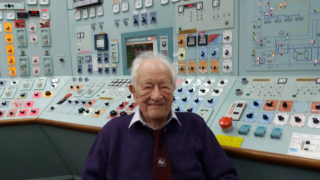 Ex-engineer's wish to return to power station after 40 years is granted