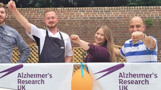 Care workers set to skydive in aid of Alzheimer's Research UK