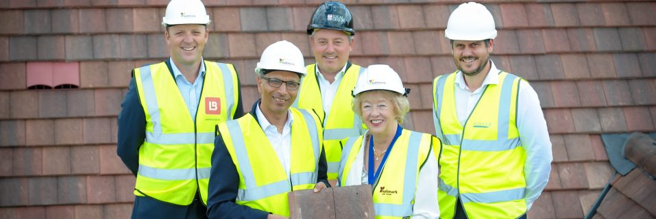 Topping out ceremony for our new Banstead care home