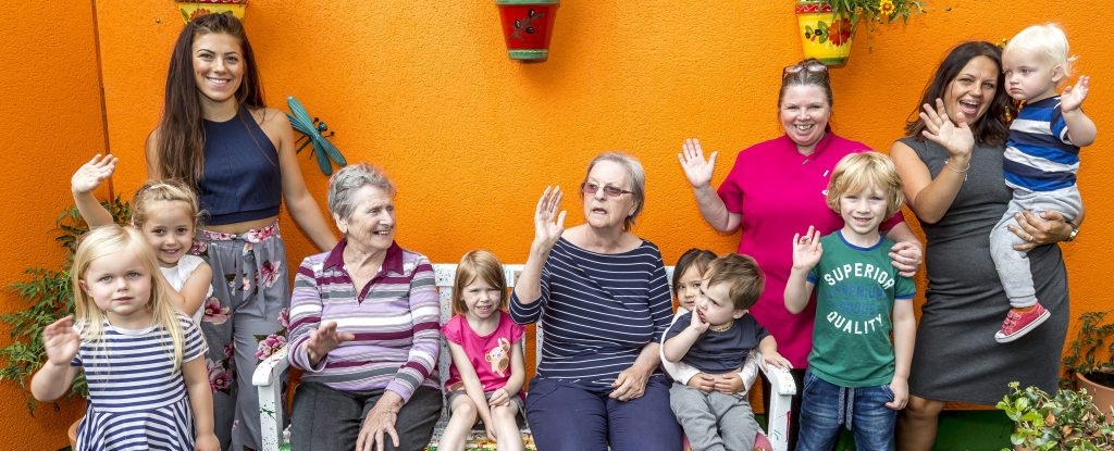 Admiral Court raise £300 for care workers with sponsored garden walk