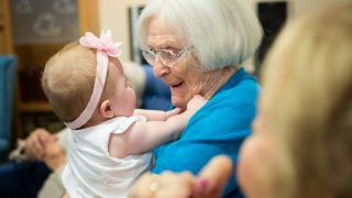 Lakeview Care Home bridges the generation gap