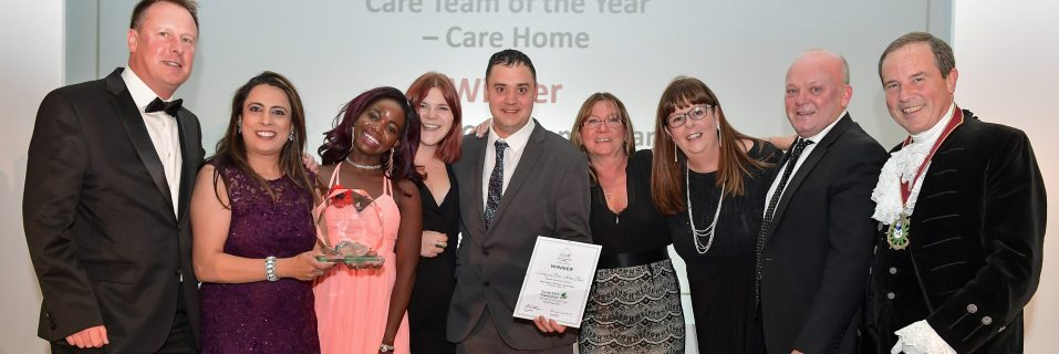 Lakeview Care Home scoops two Surrey Care Awards