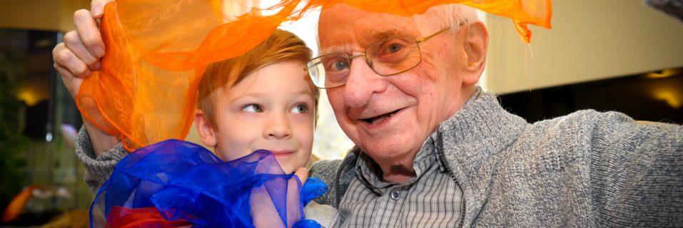 Bucklesham Grange Care Home bridges the generation gap