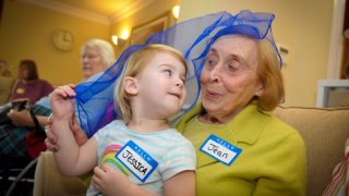 Anya Court Care Home to bridge the generation gap