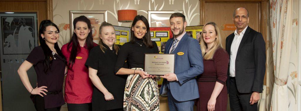 Bucklesham Grange receivesHallmark's first ORCHID award
