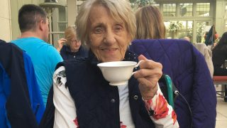 Residents' wish granted for afternoon tea