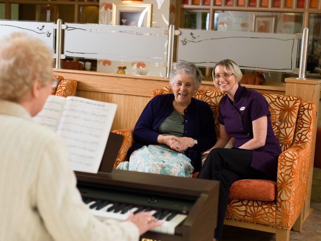 Music and Hallmark Care Homes