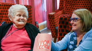 Maycroft Manor hosts community film festival